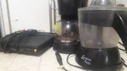 Cafeteira/Dvd/Espremedor e Microsystems