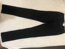 calça preta nova