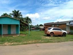 Terreno com pontos comerciais e casa nos Fundos em Humaitá Amazonas