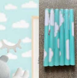 Título do anúncio: Temos adesivo lindo parede papel para decorar seu quarto