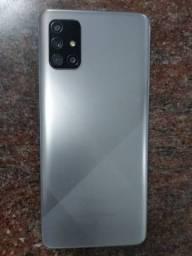 Samsung a71 cinza 128gb na garantia