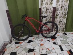 Bicicleta colli aro 29 Alumínio com 21 Marcha, vermelha