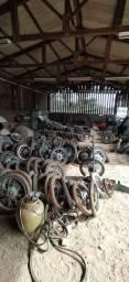 Rodas, pneu usandos
