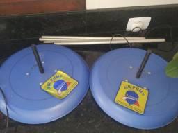 2 Bases giratória para balões Air Pump