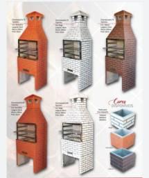 Venda de churraqueiras, lareiras,fornos e fogões
