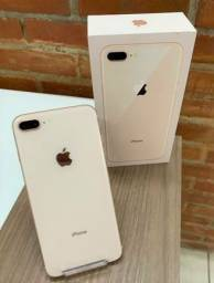 LiquidaFone!! iPhone 8 Plus Vitrine Original Apple Em Perfeito Estado Baixo Juros Brindes