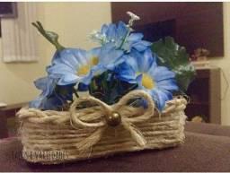 Título do anúncio: Mimi cestinha de flores