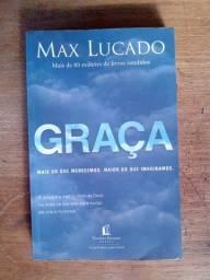 Livro Graça de Max Lucado em ótimo estado