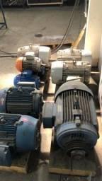 Título do anúncio: Motor elétrico weg Lote 6 pç  4cv, 5cv, 20cv,