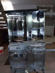 (Negociável) Máquina para churrasco grego espetinhos e todos os tipo de coisa assada