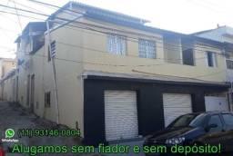 Casa de 3 côm, sem fiador e sem depósito Jd Imbuias, mesma rua da faculdade da unisa