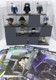 Lote 9 Capacetes Star Wars Miniaturas Deagostini + Brindes
