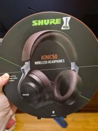 Fone Shure Aonic 50 noise canceling com nota e garantia