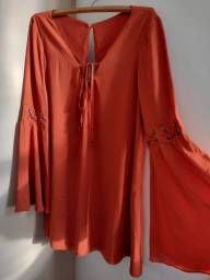 Vestido Alaranjado Dress To