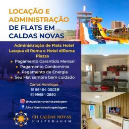 Título do anúncio: Deseja alguém para Administrar seu Flat em Caldas Novas Hotel Lacqua di Roma ou Piazza