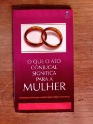 Livro O Que O Ato Conjugal Significa Para A Mulher em ótimo estado
