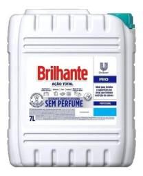 Sabão Líquido Brilhante Ação Total Profissional Sem Perfume 7 Litros.