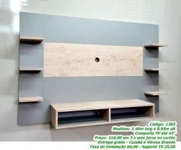 """Painel para TV até 43"""" - MDF Cassis (NOVO)"""