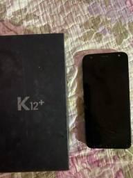 Lg k12+ 32gb aceito cartões e trocas de maior valor