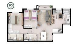 Apartamento com 2 dormitórios à venda, 66 m² por R$ 448.000,00 - Setor Oeste - Goiânia/GO