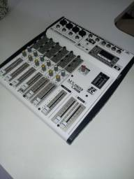 Mesa de som Staner MX0603, 6 canais
