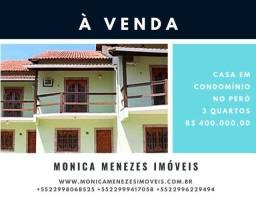 Linda casa em condomínio no Peró