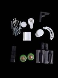 Título do anúncio: Kit acessórios de box F1 Branco 6mm