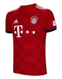 Camisa do Bayern Nova 18/19 Tecnologia Climalite. Passo Cartão. Entrego