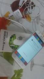 Troco j5 prime novo sem marca de uso 32 GB biométrico completo troco por iPhone 5s