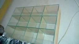 Baleiro de vidro NOVO