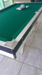 Vendo mesa de sinuca nova 1900 reais 2.17 mx1.30 tenho a pronta entrega