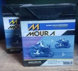 Bateria Moura moto titan xre Tornado twister falcon cg cb xre fan Bros