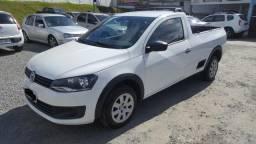 Vw - Volkswagen Saveiro 1.6 TrendLine, único dono, impecável - 2015