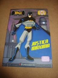 Gibi Batman - Justiça Máxima - 2 Histórias - Ótimo Estado