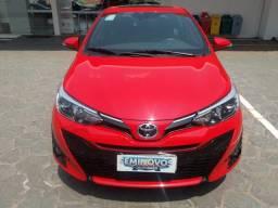 Abaixou*Toyota Yaris Xls HATCh 2019-baixo Km - 2019