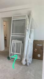 Porta balcão de aluminio