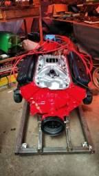 Motor chevrolet 350 v8 centerbolt comprar usado  Maringa