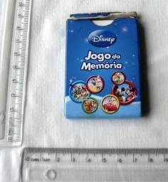 Brinquedo - Mini Jogo Memória Disney - 14 Cartelas - Usado