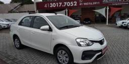 TOYOTA ETIOS SEDAN XS 1.5 16V AT FLEX Branco 2017/2018 - 2017
