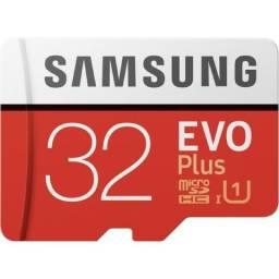 Cartão de Memória 32gb Samsung EVO Plus Original