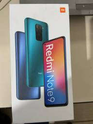 Redmi note 9 128gb na caixa