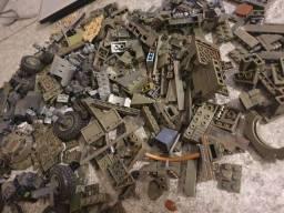 Peças soltas lego militar