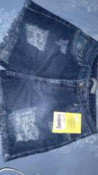 Short Novo Max denim
