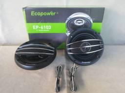 P/ Som Automotivo Alto Falante 4'' 600w Ecopower Ep-6103 - Novo