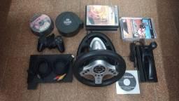 Playstation 2 - Volante Vibration Universal