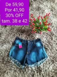 Jeans feminino até 30% off