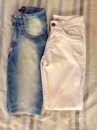 Duas calças Femininas