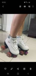 Patins com led