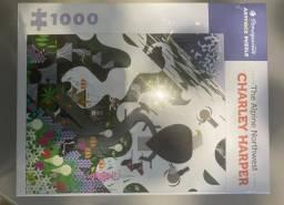 Charley Harper the Alpine Northwest 1000-Piece Jigsaw Puzzle NOVO, LACRADO
