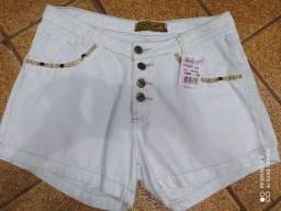 Short jeans Tam GG numeração 50 sem Lycra está na etiqueta